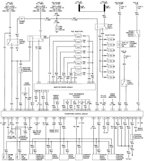 mercedes glow relay wiring diagram mercedes wiring