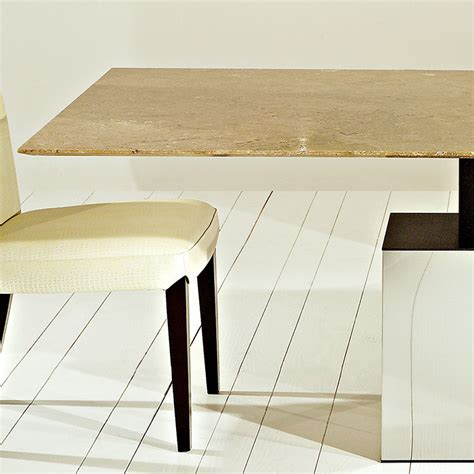 travertine marble dining table athens siena walnut travertine marble dining table