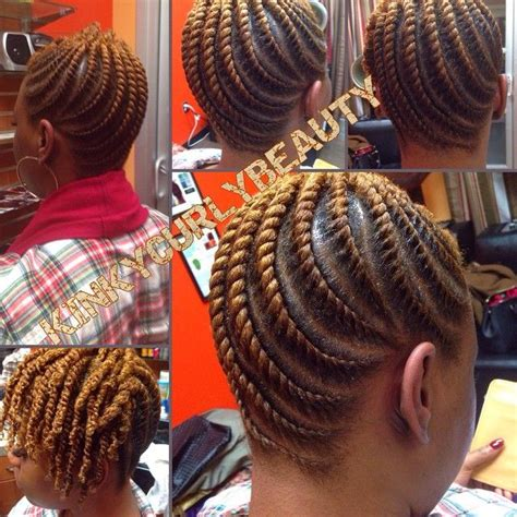 twisted and neat hairstyles such neat flat twists kinkycurlybeauty black hair