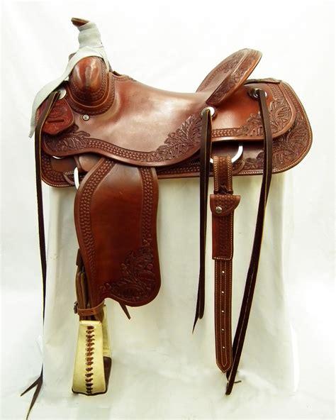 Handmade Ranch Saddles - roping and ranch saddles