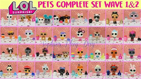 Sold Out Lol Pet Series Wave 2 1 lol pets series 3 wave 1 and wave 2 complete set all gold balls found clip fail