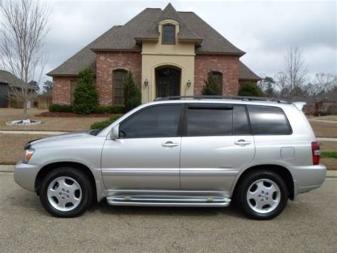 Used Toyota Highlander In Usa Sell Used 2007 Toyota Highlander Sport Limited In