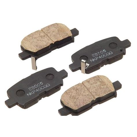 Brake Pad Rear Nissin For Jazz And New City nissin 174 w0133 1624852 nis semi metallic rear disc brake pads