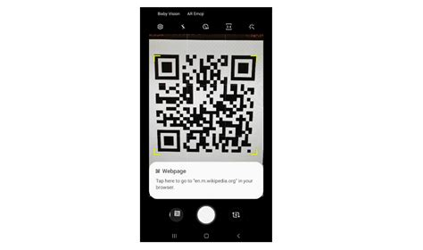 galaxy  june update   built  qr code scanner