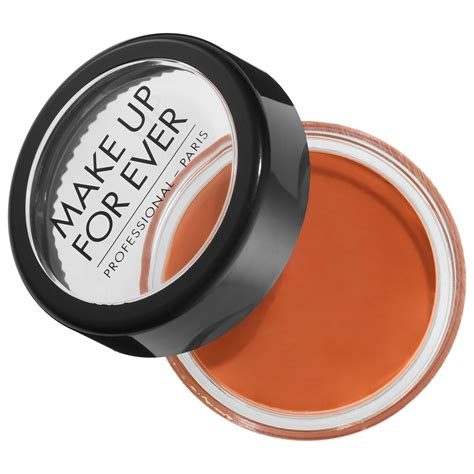 how to make color orange makeup forever camouflage pot color corrector orange