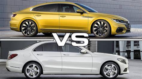 volkswagen vs mercedes 2018 volkswagen arteon vs 2015 mercedes c class