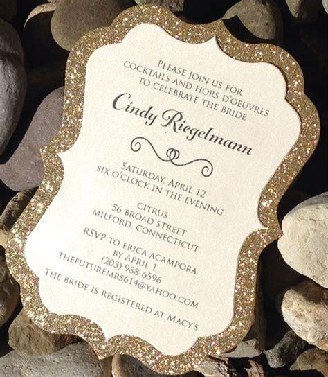 25  best ideas about Gold invitations on Pinterest   Foil