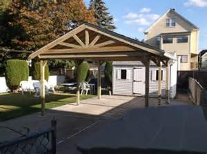 12x16 Carport Wooden Carport