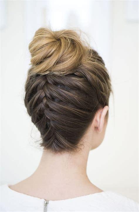 braids up in a bun upside down braided bun gorgeous hairstyles braided