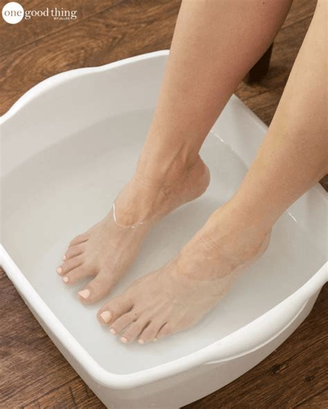 feet in bathtub soothe tired and sore feet with this blissful foot soak
