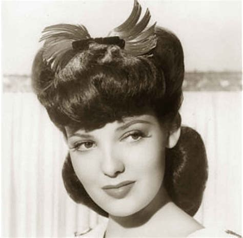 hairstyle facts from the 1940 1940s hairstyles memorable pompadours linda darnell