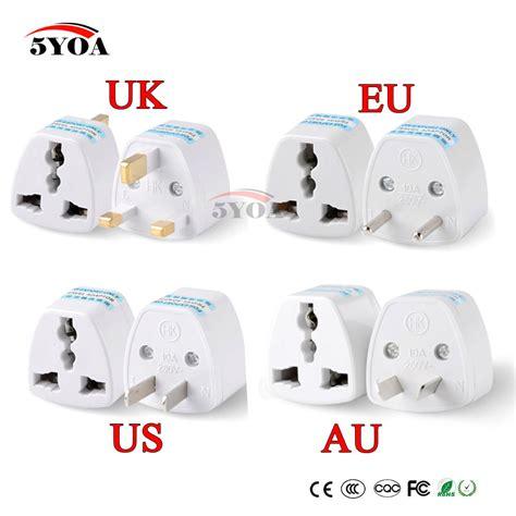 aliexpress eu 1pc universal us uk au to eu plug usa to euro europe