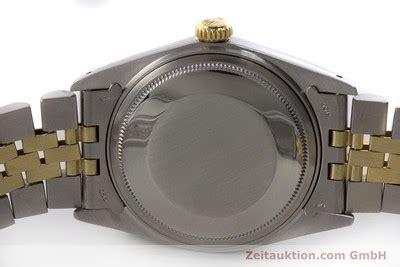 B1 Rolex Oyster Gold Rolex Datejust Stahl Gold Automatik Kal 1570 Ref 1600