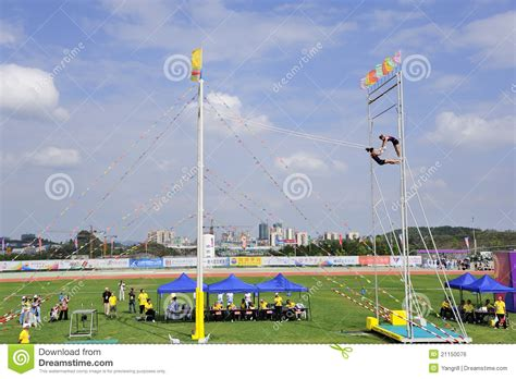 meet swing sports meet swing games editorial photo image 21150076