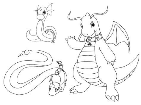 pokemon coloring pages dratini dragonair pokemon coloring pages images pokemon images