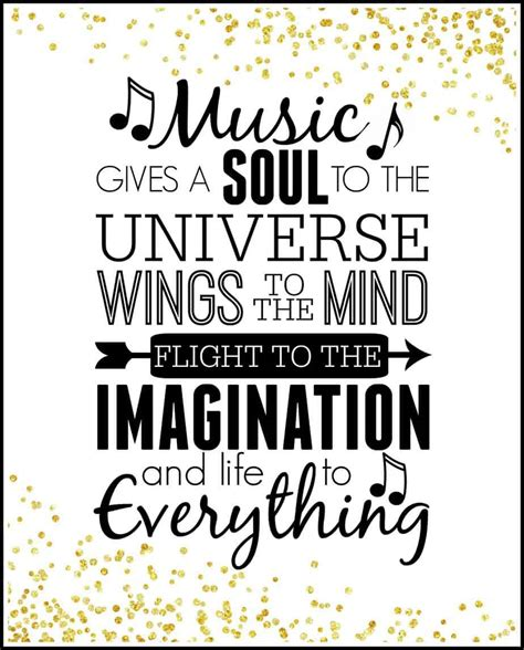 printable quotes about music inspirational quote