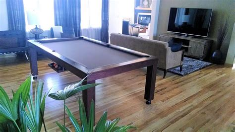 Convertible Dining Room Pool Table by New Yorker Billiards Table