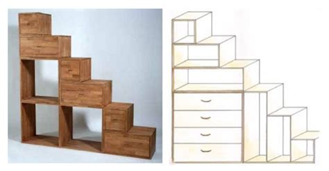 mobili a scala pareti attrezzate o mobili divisori