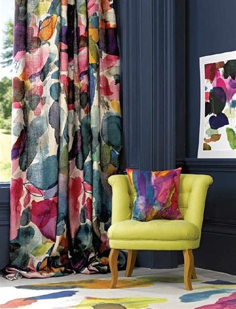 colorful patterned curtains 25 best ideas about colorful curtains on pinterest