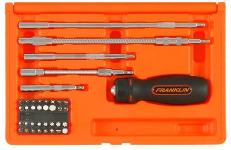 Kd Franklin Set franklin tools 38pce ratchet screwdriver set 8738 toolbox37