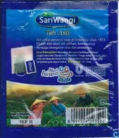 Teh Sari Wangi 1 Kotak teh asli sari wangi catawiki