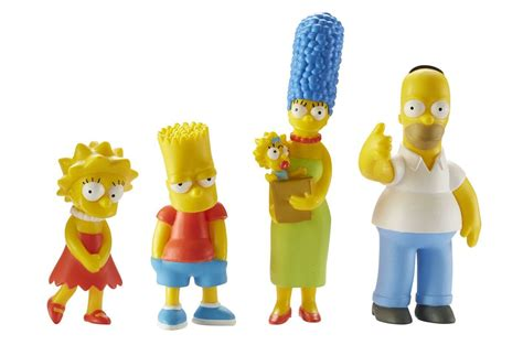 The Simpsons Family Figure simpsons family mini collectible figure set bart
