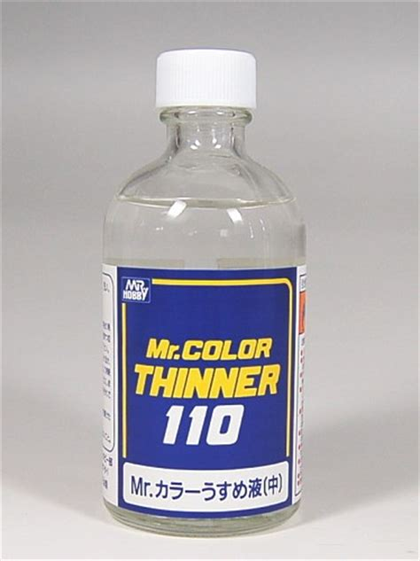 Mr Color Thinner 110 Ml Mr Colour Thiner 110ml Hobby Hoby Hobi Mr Color Thinner 110 T 102 Hobby Web Shop