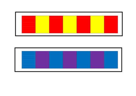 pattern video eyfs repeated colour pattern strips by miss tallulah teaching