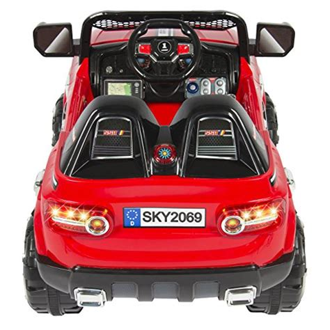 kid play car power wheels 12v truck suv motor sports car for