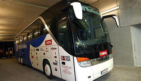 Ohne Kennzeichen Zum T V Fahren by Hoffenheimer Mannschaftsbus F 228 Hrt Ohne Kennzeichen
