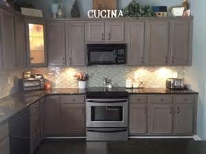 grey glazed kitchen cabinets federal gray with glaze 2 cabinet girls