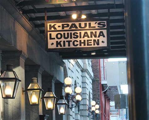 Paul S Kitchen by Dinner Service 5 30pm 10pm K Paul S Louisiana Kitchen
