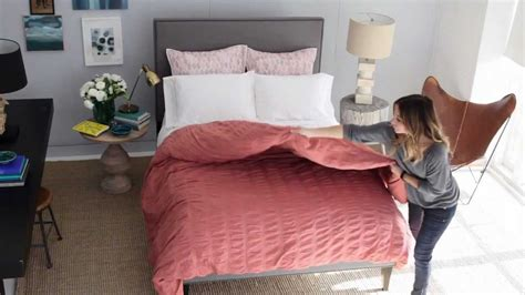 correct way to make a bed how to the layered bed west elm youtube