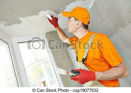 intonacare il soffitto interno soffitto lavoro stuccatore soffitto
