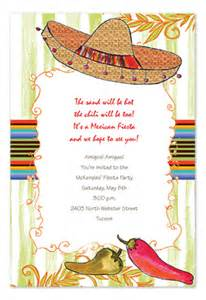 Tropical Themed Photo Christmas Cards - spicy sombrero party invitations by invitation