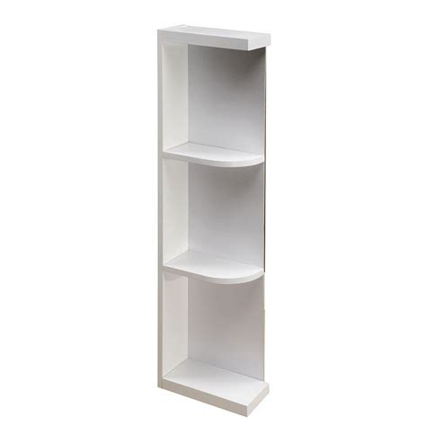 open shelves cabinet home decorators collection assembled 6x42x12 in hallmark wall end open shelf cabinet in arctic