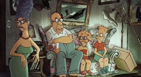 banksy couch gag the simpsons x sylvain chomet couch gag faux magazine