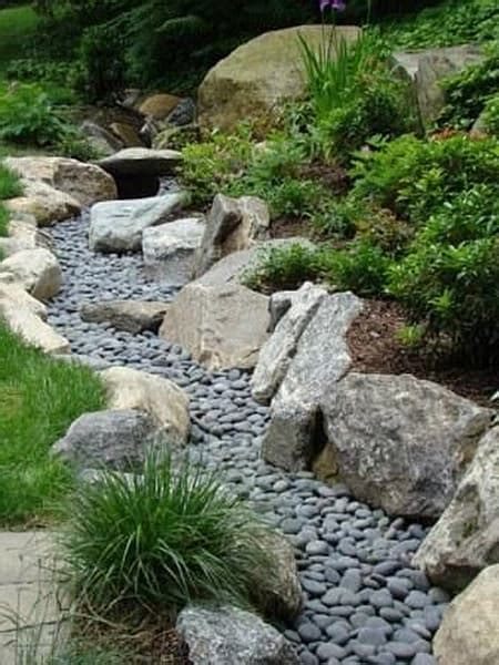 dry creek beds 50 super easy dry creek landscaping ideas you can make