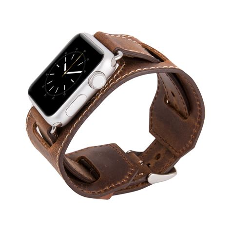 Monochrome Leather Band For Apple 38mm 10 apple wide band brown 38mm istanbul