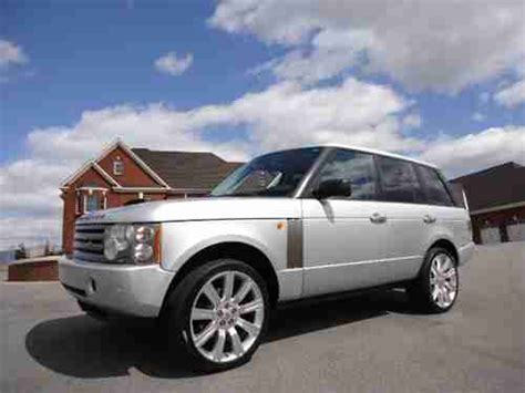range rover stormer find used land rover range rover hse 22 inch stormer