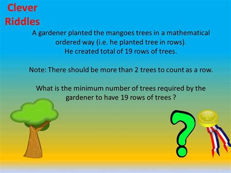 riddle for tree riddle 4 trees