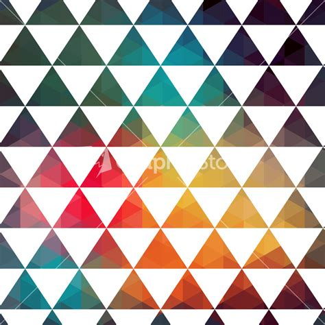 colorful triangle pattern wallpaper vector triangles pattern modern hipster pattern colorful