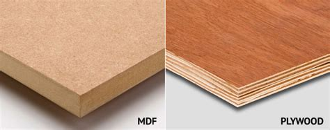 Furniture Board Vs Plywood Cabinets by Plywood Vs Mdf Which Is Best For Diy Projects