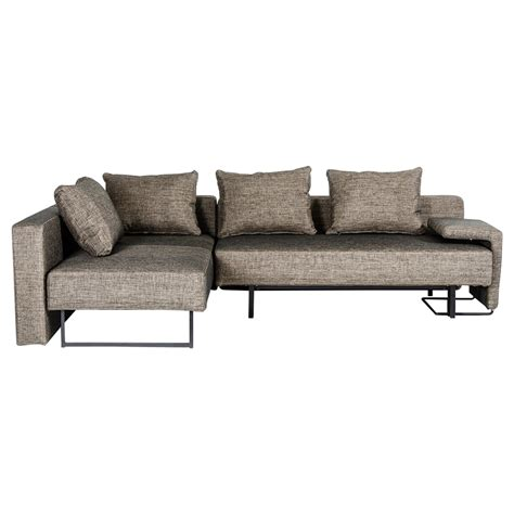 Sofa Olympic divani casa olympic sofa with chaise brown dcg stores