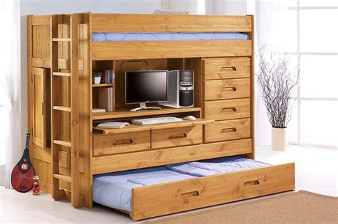 bunk bed with desk and futon chair bunk beds bunk bed with futon and desk trundle