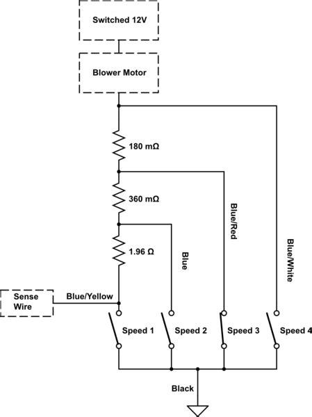 wiring diagram ac blower motor choice image wiring