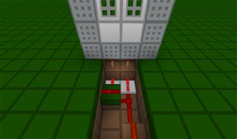 Redstone Doors by Minecraft Redstone How Do You Create Doors That Open In Sync From A 2 Wide Power Source