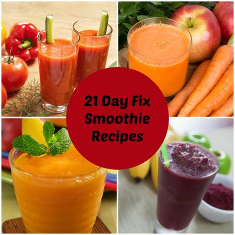 21 Day Fruit And Veggie Detox by How To Make Smoothies For The 21 Day Fix All Nutribullet