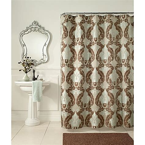 baroque curtains buy baroque 72 inch x 72 inch fabric shower curtain from