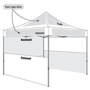 Canopy Tent Design by Custom Pop Up Tents Amp Event Canopies 10x10 Tent Starting
